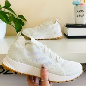 New adidas Terrex Two Parley White Running Shoe